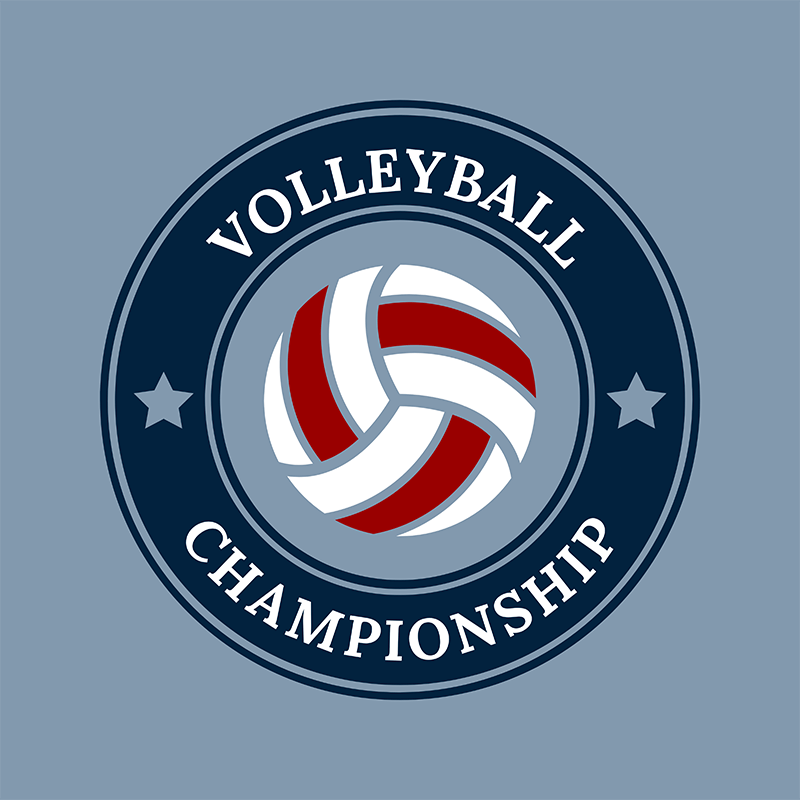Make A Volleyball Logo Maker For Your Team Placeit
